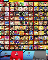 Smash Bros All-Stars (Dream Roster) by MHUltimate2013DW