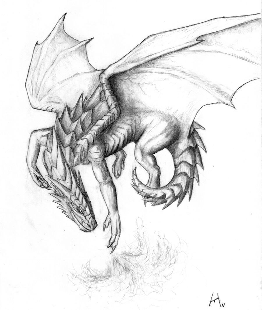 detailed dragon coloring pages - photo #36