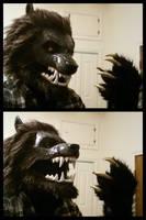 Werewolf Mask 2013 by Howlitzer