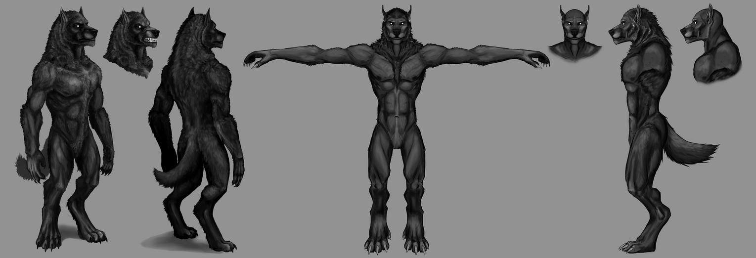 2015.1 Werewolf Avatar Redesign by Howlitzer