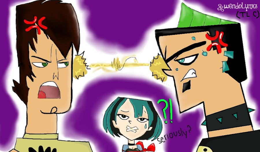 Trent vs Duncan for Gwen by TraceyLikesCake