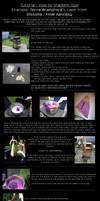 How to gradient dye tutorial
