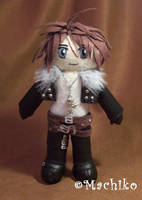 Squall Leonhart by momoiro-machiko