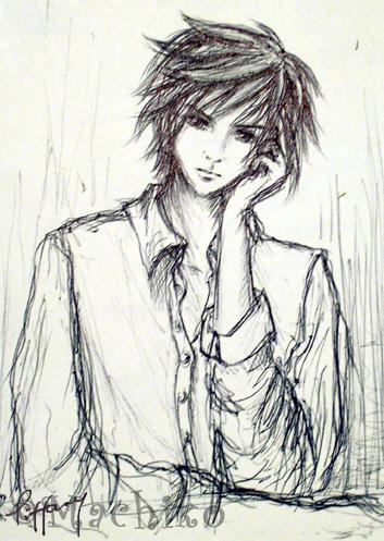 Bishonen Kingdom Hearts Roxas by momoiro-machiko