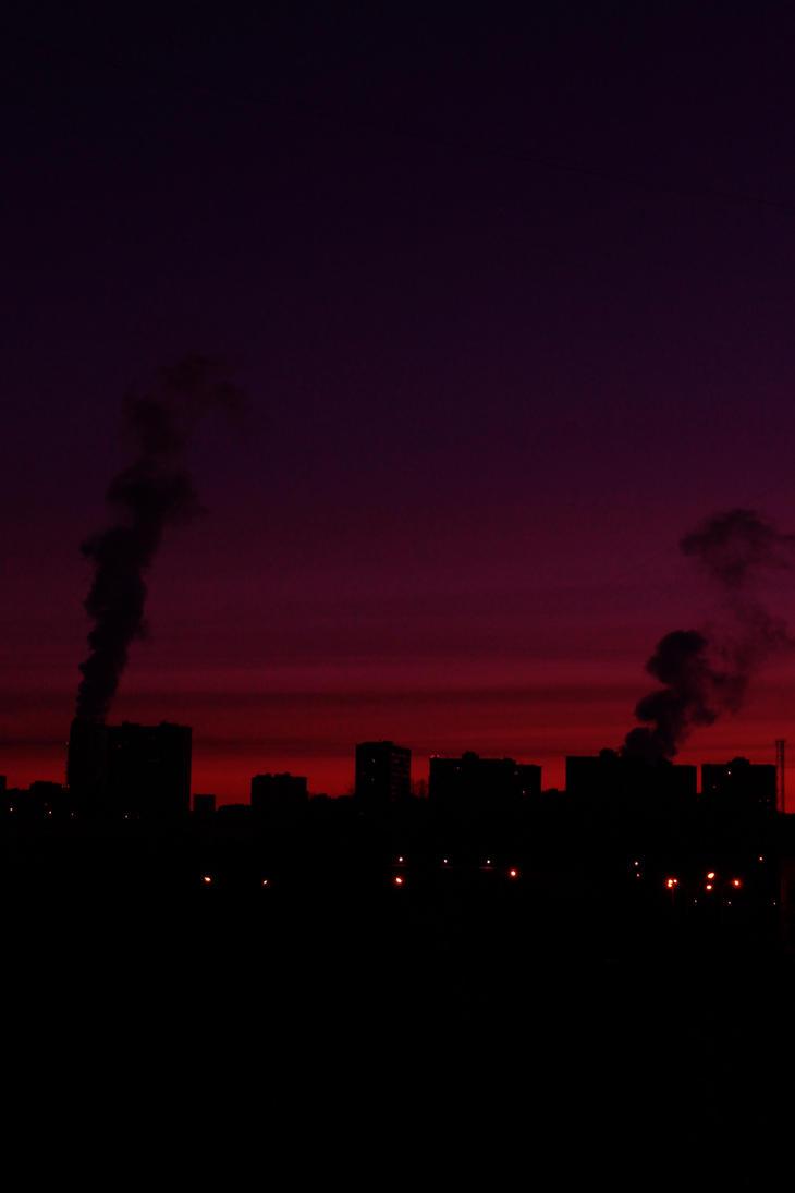 Sun rise 1 a.k.a. Night Fire by Mafon