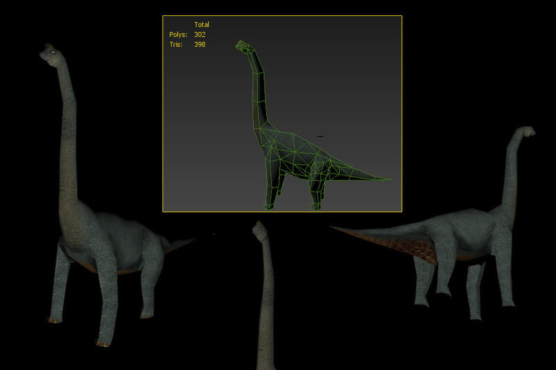 Brachiosaurus 398 tris by Mafon