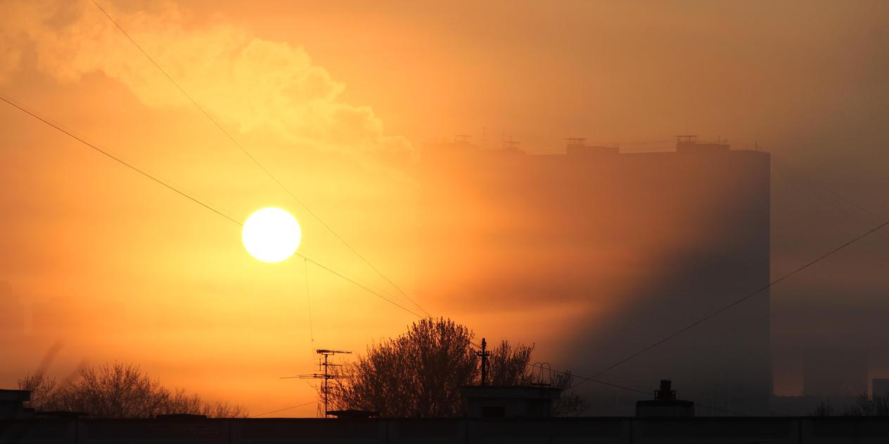 Yellow Sunrise by Mafon