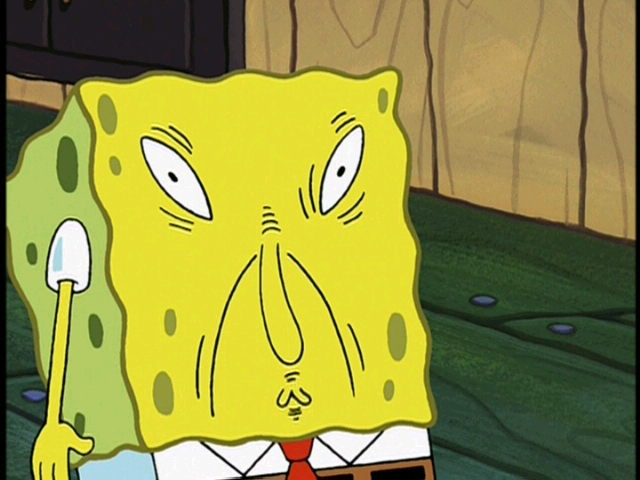 Spongebob Funny Faces