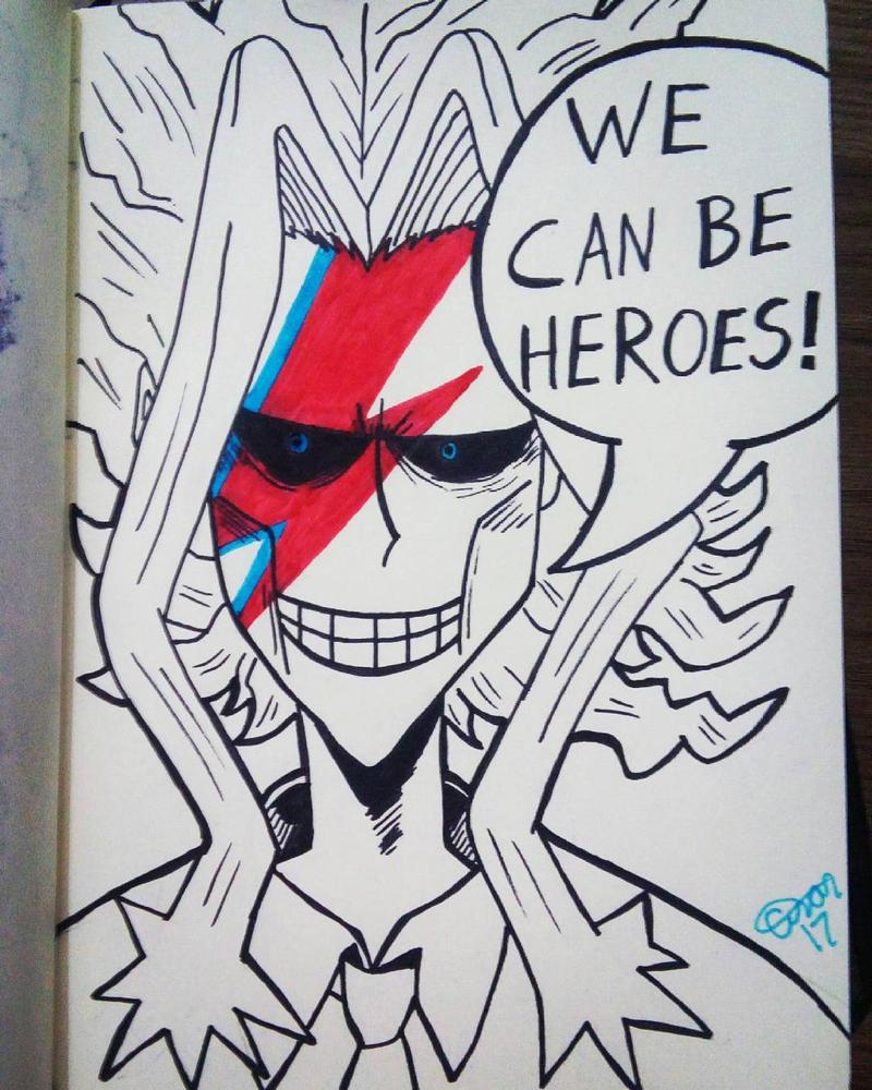 Bowie no Hero by TaoCesar