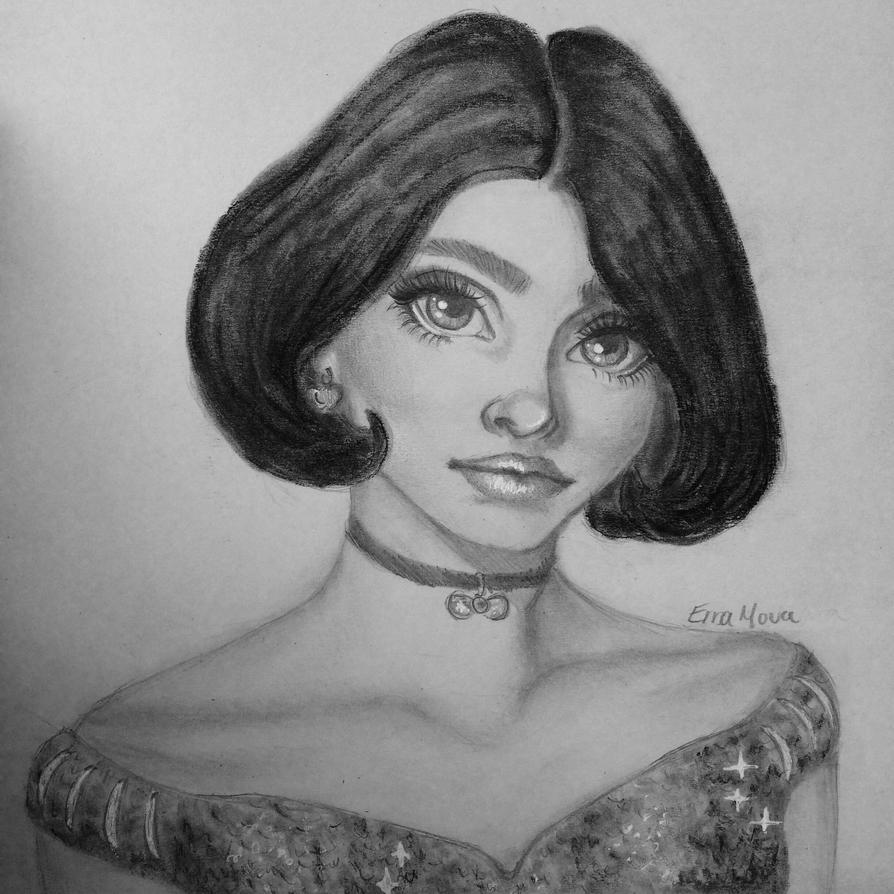 Disney Princesses by erramoua