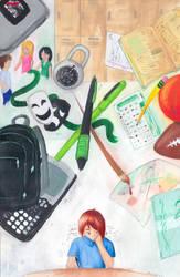School Stuff by tyrowish