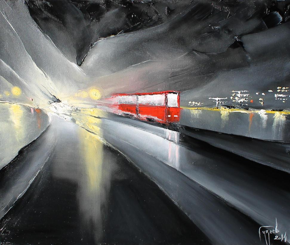 painting by Guzeev