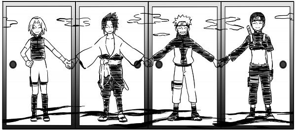 Sai-Naruto-Sasuke-Sakura by jorjacarla