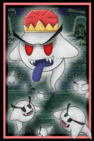 King Boo And The Boos by StellasStar