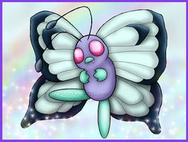 Poke'mon Request: Butterfree by StellasStar