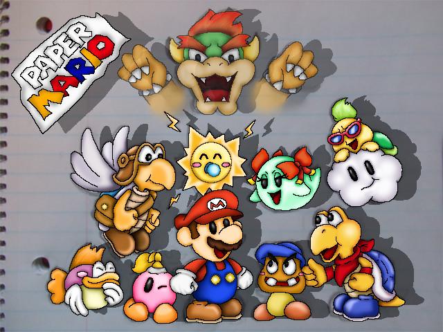 Paper Mario by StellasStar