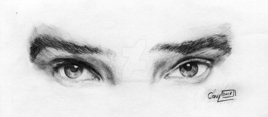 Benedict Cumberbatch Eyes by Janie-13