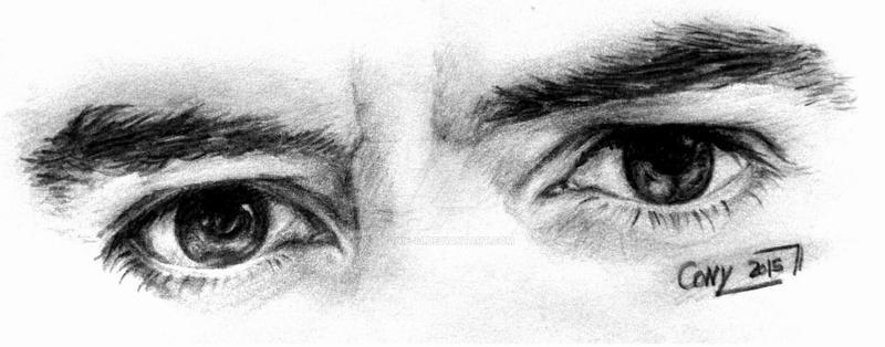 Robert Downey Jr Eyes by Janie-13