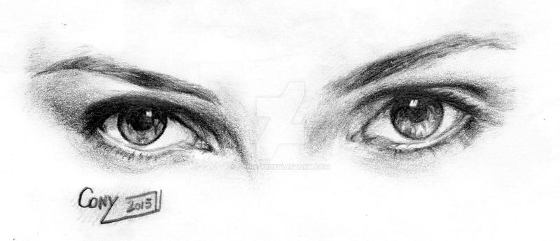 Scarlett Johanson Eyes by Janie-13