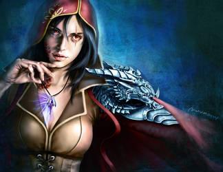 Dragon Queen by nurumayu35