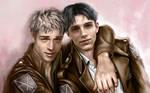 Attack on Titan / 126 Pride Jean and Marco