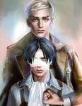 Attack on Titan / Dedicate your heart 2 by nurumayu35