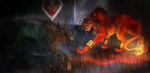 Dark Nation V Red XIII