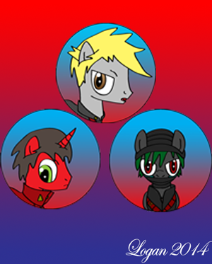 The Three Guardians - As Ponies by RPD490