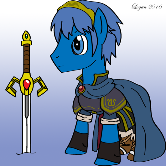 Marth - Ponified by RPD490