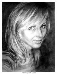 Self portrait by Aleony6ka