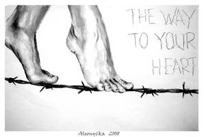 The way to ur heart... by Aleony6ka