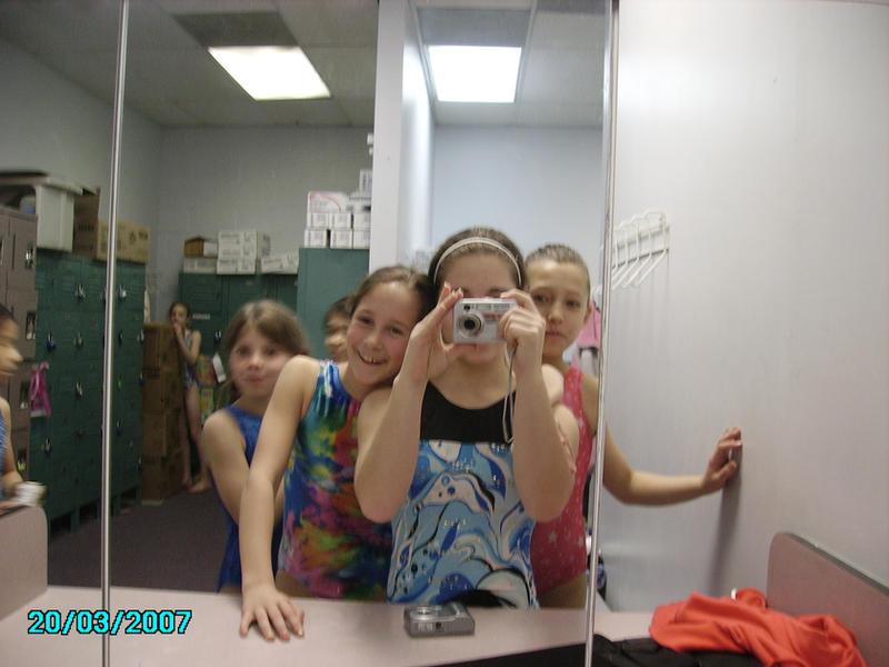Girls shower room