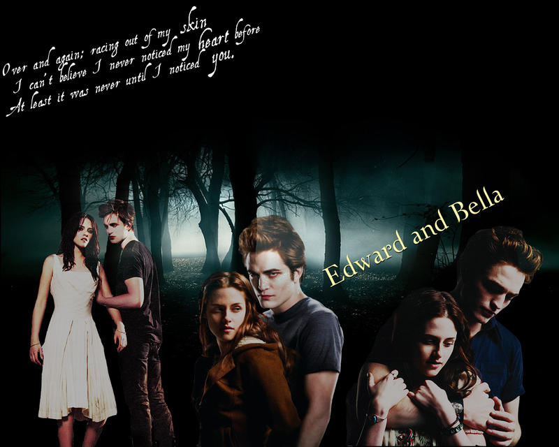 edward and bella wallpapers. Edward and Bella Wallpaper by
