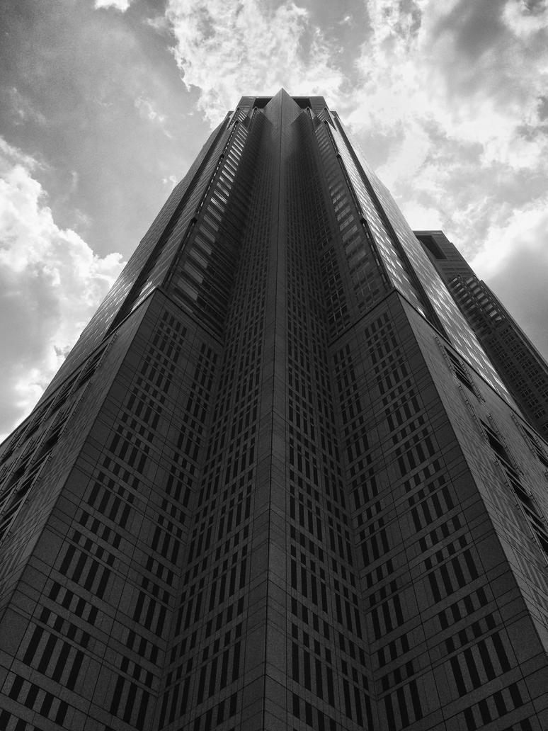 Towering Over Shinjuku by APP6A