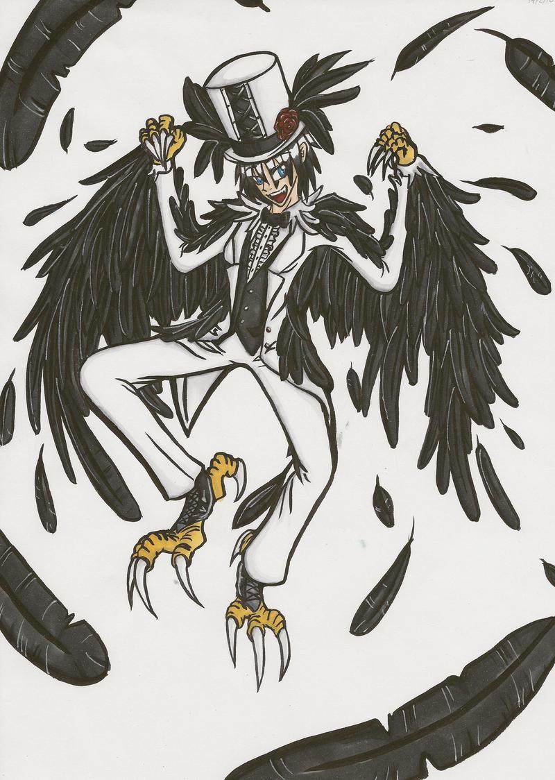 Crow Familiar by heilei