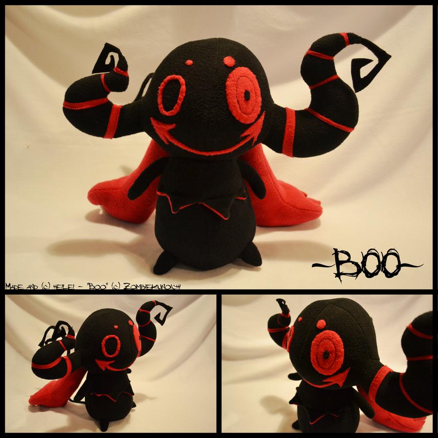 FP: Zombiekunoichi 'Boo' by heilei