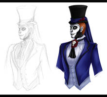 Blank Space Concepting: Hector Arana by heilei