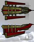 Steampunk Ship Blueprints