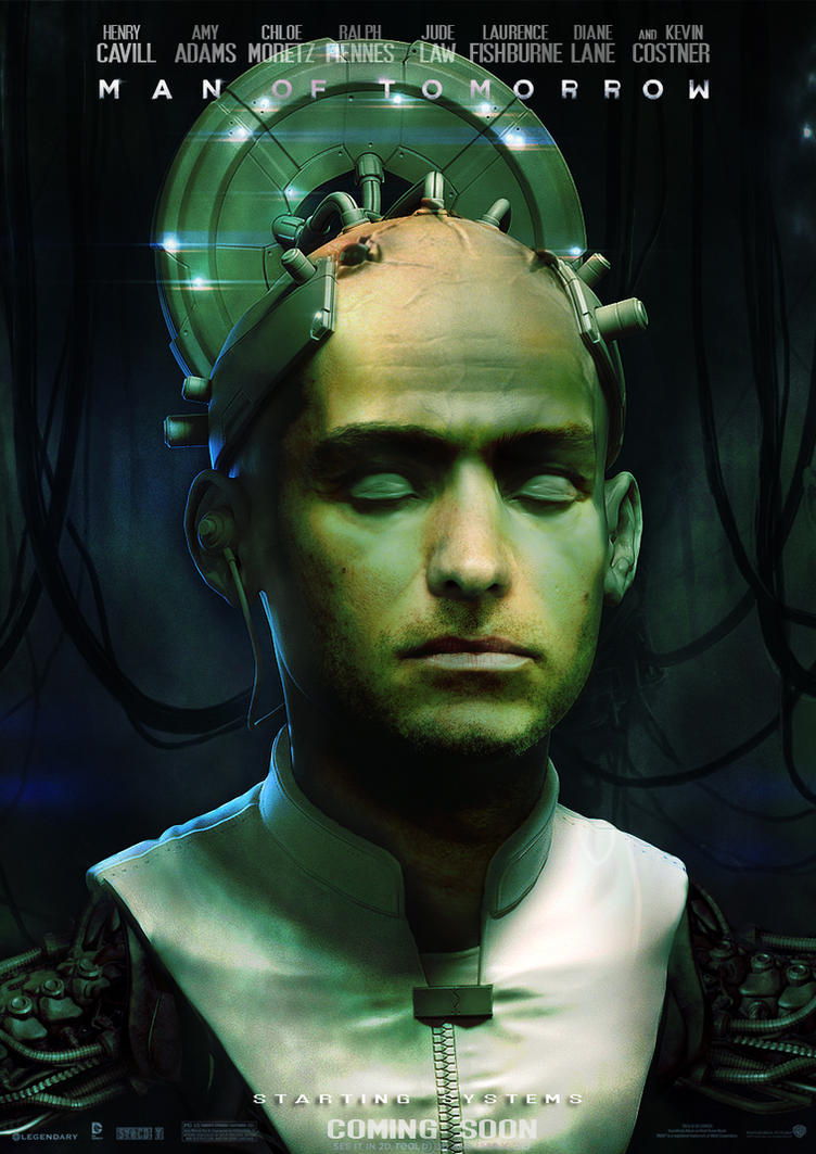 Man of Tomorrow (Man of Steel 2) - Brainiac Poster by Imperium-Hero