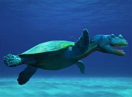TurtleRaptor by WaltervanSanten