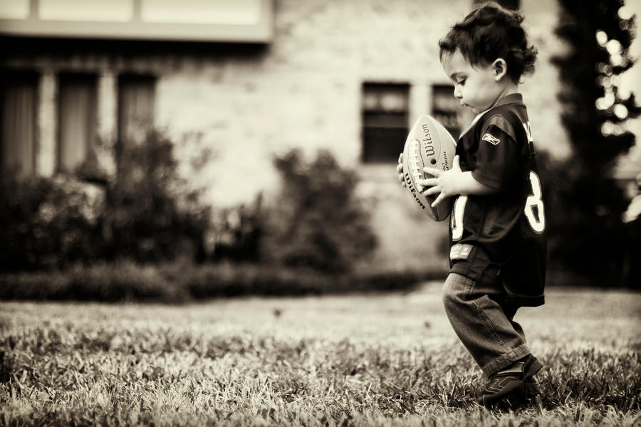 lil football guy