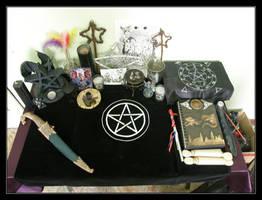Altar by Wilhelmine