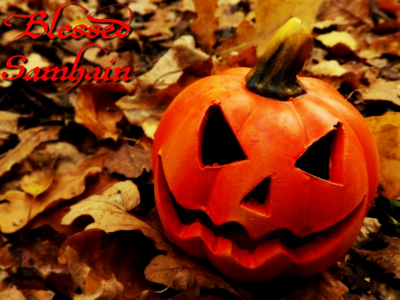 Blessed Samhain 2014 - 2 by Wilhelmine