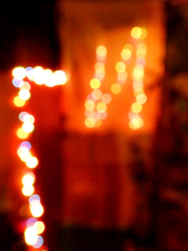 Christmas Lights Bokeh by Wilhelmine