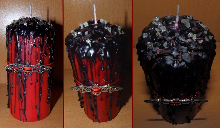 Ritual Candle - Vampire Seduction by Wilhelmine
