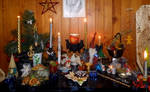 Yule Altar 2015 - 2