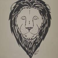 Lion - Tribal
