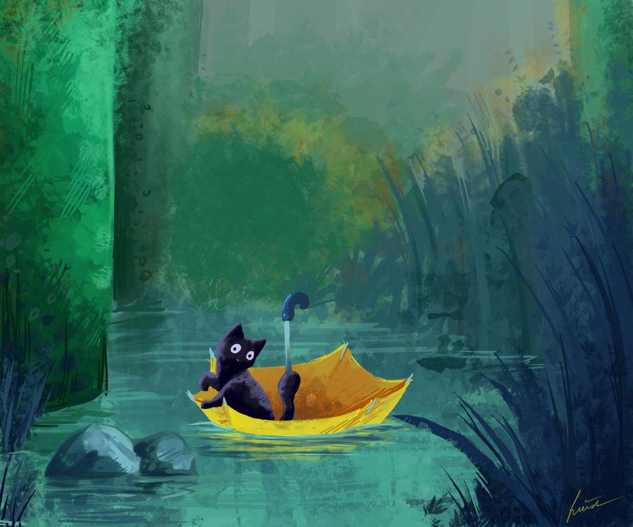 Swamp by CinnamonHunter