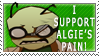 Algernon Stamp by Ashy666