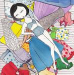 Ramona Paper Doll